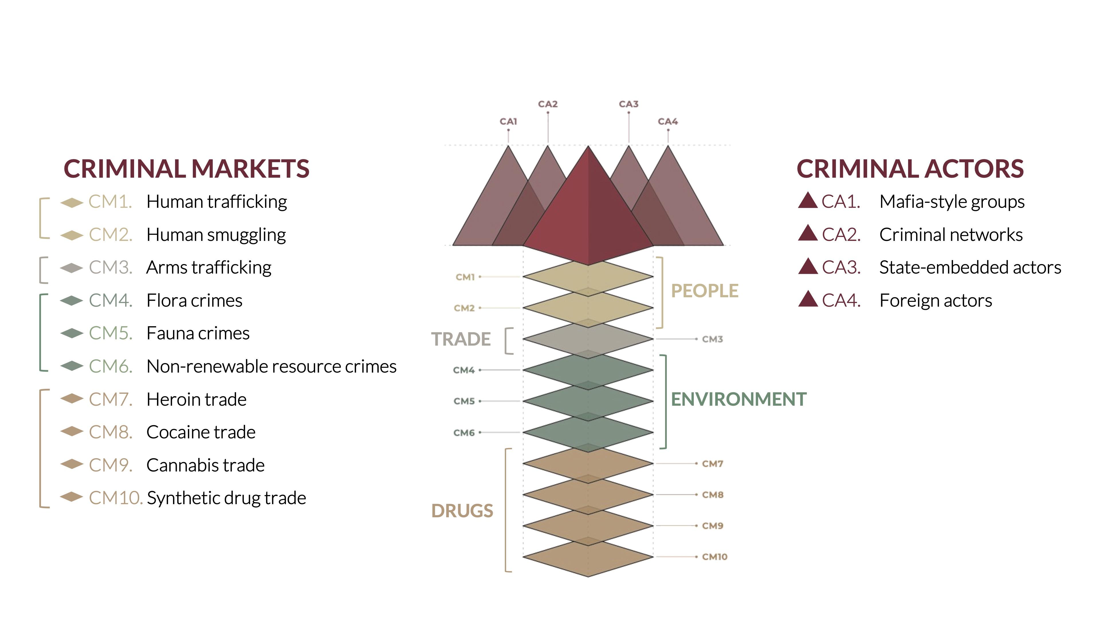Criminality components